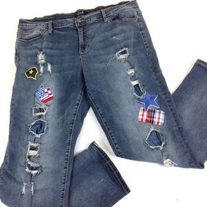 Earl Jeans Boyfriend High Rise 35x30